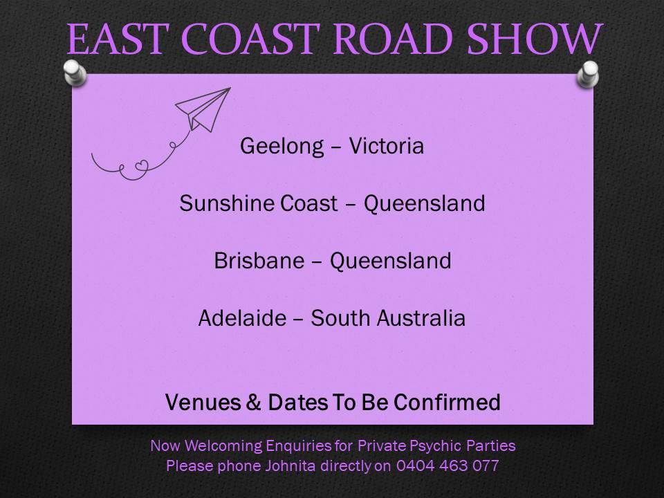 East Coast Road Show 2020